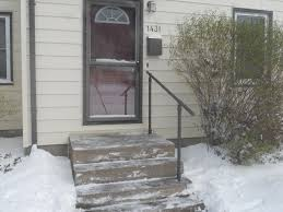 15 customer railing examples for concrete steps simplified building