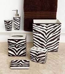 zebra bathroom ideas zebra bathroom accessories