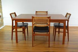 Teak Dining Room Furniture Swedish Refractory Teak Dining Table Galaxiemodern