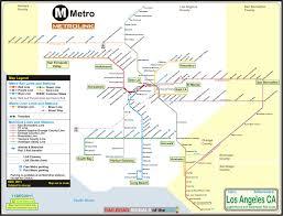 Metro La Map Los Angeles Light Rail Map Afputra Com
