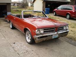 1964 pontiac lemans convertible gto 64 classic antique the h a m b