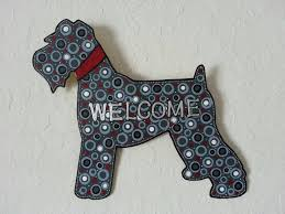 Custom Metal Signs For Home Decor by Schnauzer Welcome Sign Metal Art Front Door Welcome Sign
