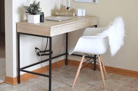 Office Desk Close Up Office Reveal For Small Spaces On A Budget Source List
