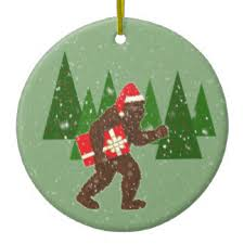 bigfoot ornaments keepsake ornaments zazzle