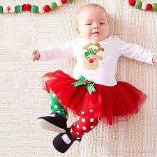 2018 Baby Christmas Clothes Children Clothing Sets Girls Long Sleeve