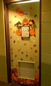 turkey door decorations decor for thanksgiving college room
