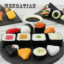 accessoire cuisine japonaise décoration artisanat miniatures couleur pvc japonais style