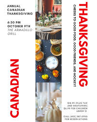 what is canadian thanksgiving about phoenix sister cities discovery changes everything