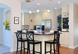 Kitchen Peninsula With Seating by White U0026 Bright Kitchen Dave Fox