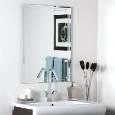 bathroom mirrors frameless frameless bathroom mirror double bathroom vanity with full wall