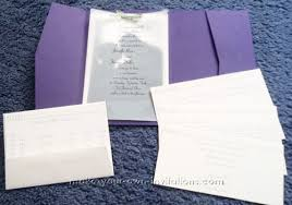 pocket fold invitations pocket fold wedding invitations