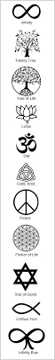 the and that you wear the meanings of symbols