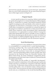 sample narrative report for preschool 2 purposeful assessment early childhood assessment why what page 36