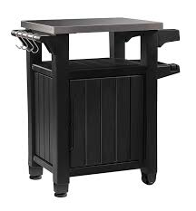 keter unity indoor outdoor bbq entertainment storage table prep