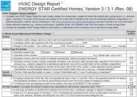 Whole House Ventilation Unit Energy Star Hvac Design Report 2 Whole House Mechanical