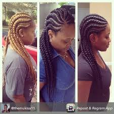 cornrow hairstyles for black women with part in the middle 19 more big cornrow styles to feast your eyes on black hair