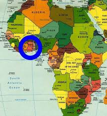 africa map ivory coast 48 best benin togo images on black history august 12