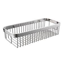solid sus 304 stainless steel shower caddy bath basket storage
