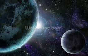 blue planet earth wallpaper wall mural wallsauce usa blue planet earth wall mural photo wallpaper