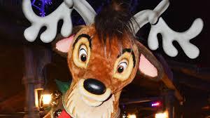 santa u0027s reindeer meet us at mickey u0027s very merry christmas party