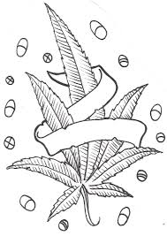 marijuanna leaf coloring sheets for kids marijuana leaf coloring
