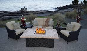 Gas Patio Table Garden Furniture Pit Set Brilliant Gas Table Patio Sets