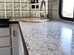 can you replace cabinets without replacing countertops update your rv countertop without replacing it on route