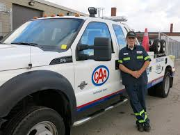car service driver a day in the life of a caa tow truck driver the daily boost