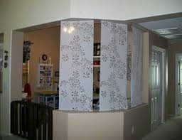 create diy sotto hanging room divider with shelves wall dividers