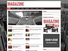 design magazine site 21 best free responsive magazine wordpress themes 2018