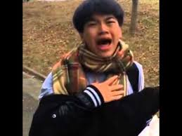 Chinese Man Meme - asian man gets scared and sings chandelier youtube