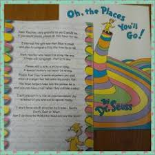 great graduation gifts oh the places you ll go graduation gift note to the teachers to