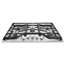 Gas Countertop Range Kitchen Cooktops Maytag 36 In Gas Cooktop In Stainless Steel With 5 Burners
