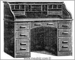 bureau americain cylindre bureau americain cylindre 1007281 bureau américain rideau meuble