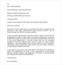 admin cover letter exles employment cover letter template free sles exles format