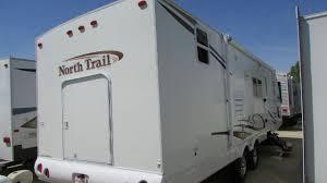 Cargo Trailer With Bathroom 2010 Heartland North Trail 29 Rbss Travel Trailer Slide Huge