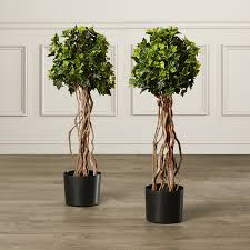 vinyl artificial topiary trees med home design posters