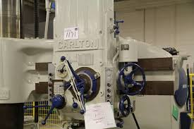 carlton 4ft radial drill on auction now at apex auctions us