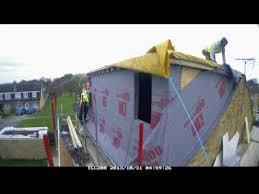 Timber Dormer Construction Timber Frame Dormer Construction Youtube