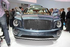 bentley exp 9 f video bentley suv concept is lelijkkk autoblog nl