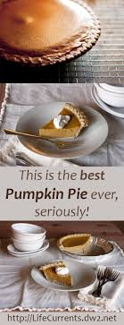 this is the best pumpkin pie seriously make your own this
