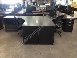 Office Furniture L Desk Realspace Magellan Performance Outlet Collection L Desk And Hutch