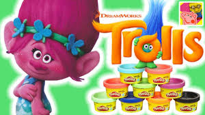 how to make princess poppy with play doh trolls full movie
