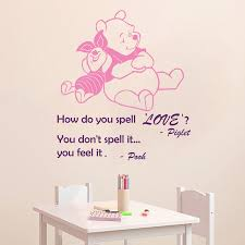 Winnie The Pooh Wall Decals For Nursery by Compare Prices On Wall Stickers Pooh Online Shopping Buy Low