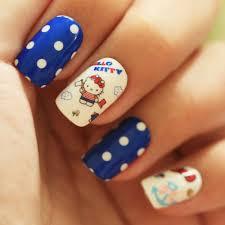 65 best hello kitty nails images on pinterest hello kitty nails