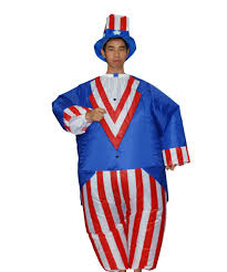 halloween costumes unusual wholesale halloween cosplay inflatable uncle sam costumes