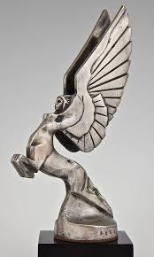 centauride sculpture french art deco bronze car mascot sculpture