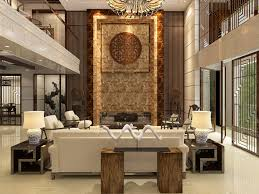 Chinese Living Room Living Room With Modern Chinese Style By Obiok 3docean