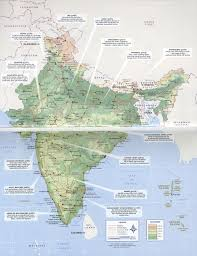 Planet Map Photo Lonely Planet India Guidebook Page Map Resources For