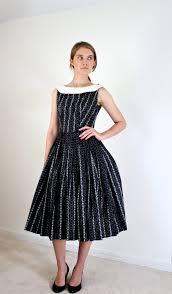 1950s dress black and white 50s dress 1950s dresses cocktail